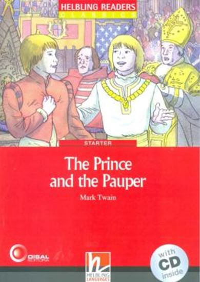 Picture of THE PRINCE AND THE PAUPER - WITH CD - STARTER