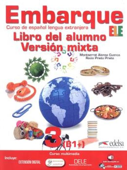 Picture of EMBARQUE 3 - LIBRO DEL ALUMNO - VERSION MIXTA INCLUYE CD AUDIO