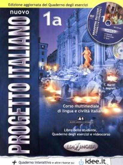 Picture of NUOVO PROGETTO ITALIANO 1A - (STUDENTE & QUADERNO DEGLI ESERCIZI) + CD-ROM + CD AUDIO - N/E