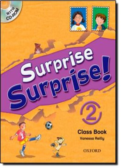Picture of SURPRISE SURPRISE! 2 STUDENT´S BOOK & CD-ROM PACK
