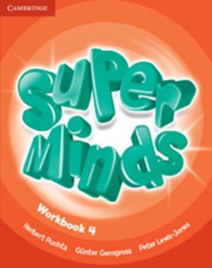 Picture of SUPER MINDS BRITISH 4 WORKBOOK