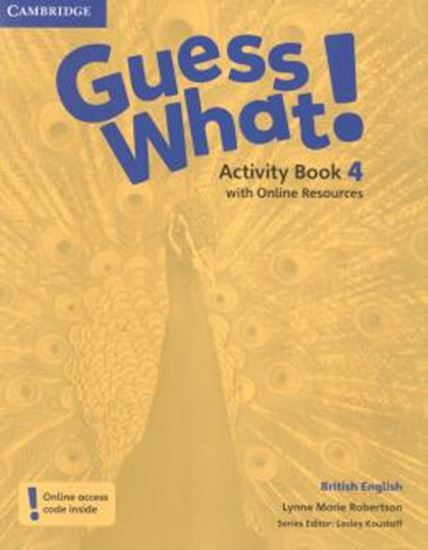Picture of GUESS WHAT! 4 AB WITH ONLINE RESOURCES - BRITISH