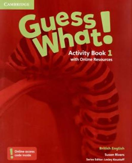 Picture of GUESS WHAT! 1 ACTIVITY BOOK WITH ONLINE RESOURCES - BRITISH