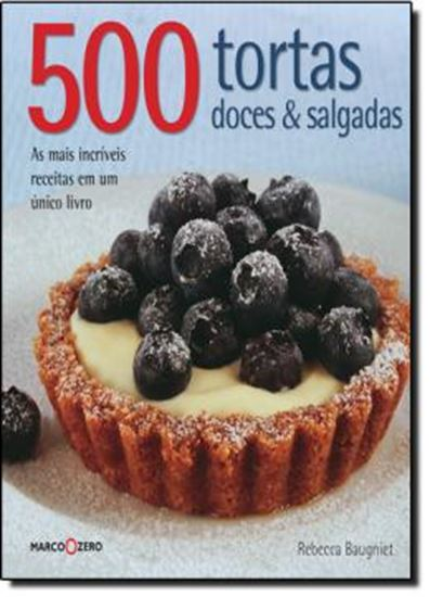 Picture of 500 TORTAS DOCES E SALGADAS