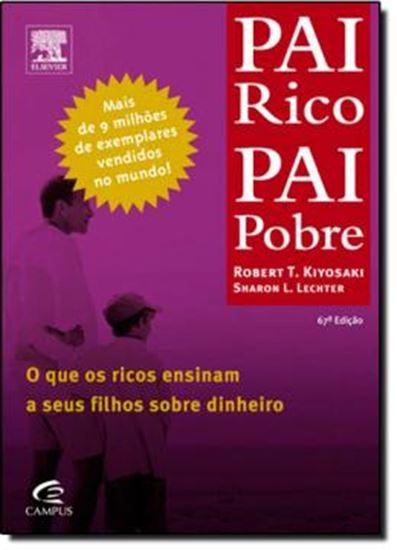 Picture of PAI RICO, PAI POBRE- O QUE OS RICOS ENSINAM SOBRE DINHEIRO A SEUS FILHOS