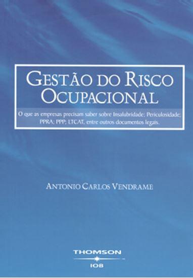 Picture of GESTAO DO RISCO OCUPACIONAL - 2ª EDICAO