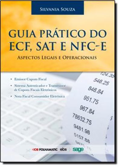 Picture of GUIA DO ECF, SAT E NFC-E  ASPECTOS LEGAIS E OPERACIONAIS