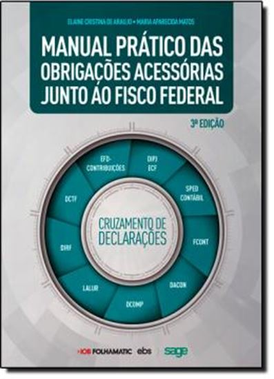 Picture of MANUAL PRATICO DAS OBRIGACOES ACESSORIAS JUNTO AO FISCO FEDERAL