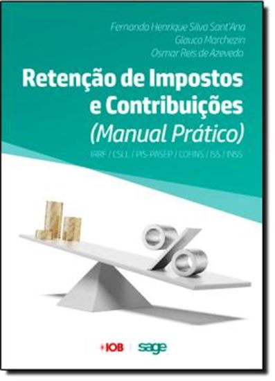 Picture of RETENCAO DE IMPOSTOS E CONTRIBUICOES - MANUAL PRATICO