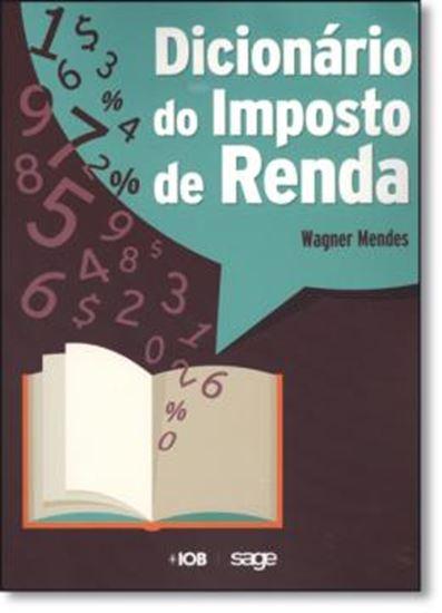 Picture of DICIONARIO DO IMPOSTO DE RENDA
