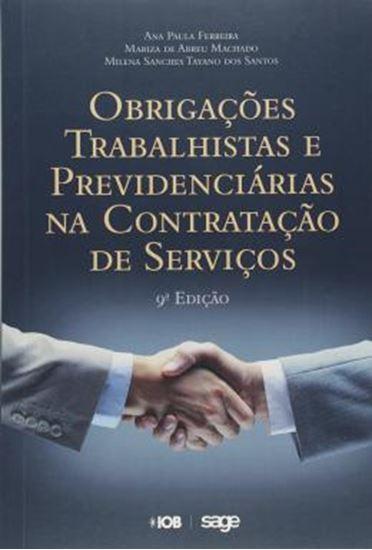 Picture of OBRIGACOES TRABALHISTAS E PREVIDENCIARIAS NA CONTRATACAO DE SERVICOS - 9ª ED