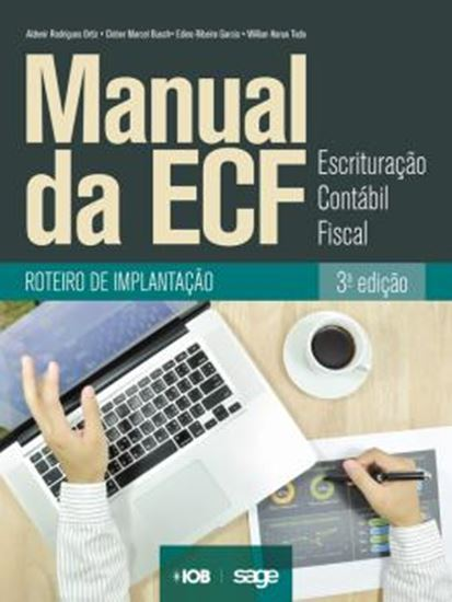 Picture of MANUAL DA ECF - ESCRITURACAO CONTABIL FISCAL