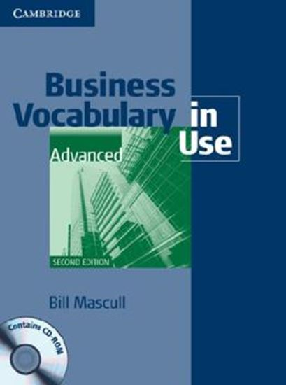 Picture of BUSINESS VOCABULARY IN USE ADVANCED BOOK WITH ANSWERS AND CD-ROM - 2ND ED