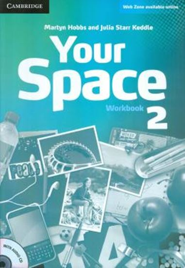 Picture of YOUR SPACE 2 WORKBOOK WITH AUDIO CD