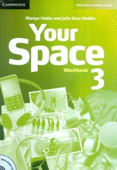 Picture of YOUR SPACE 3 WORKBOOK WITH AUDIO CD