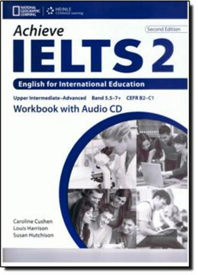 Picture of ACHIEVE IELTS 2 WB WITH AUDIO CD - 2ND ED