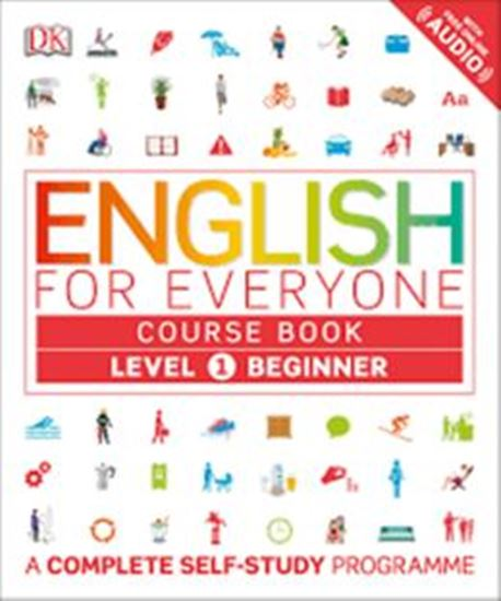 Picture of ENGLISH FOR EVERYONE COURSE BOOK 1 BEGINNER