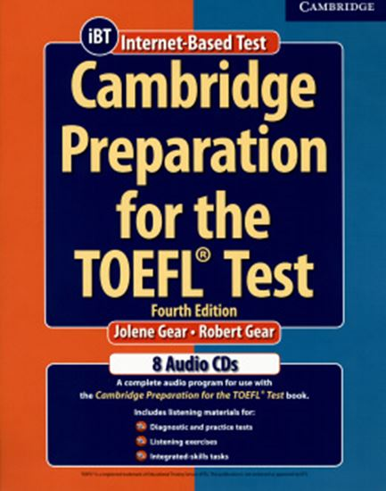 Picture of CAMBRIDGE PREPARATION FOR THE TOEFL TEST CD (8) FOURTH EDITION