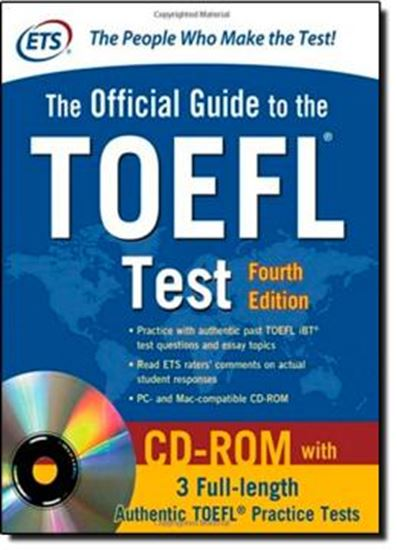 Picture of OFFICIAL GUIDE TO THE TOEFL TEST WITH CD-ROM 4TH EDITION