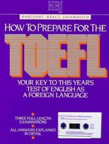 Picture of HOW TO PREPARE FOR THE TOEFL
