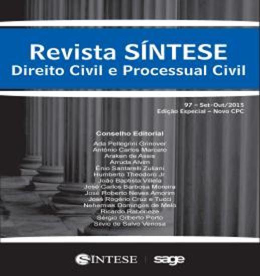 Picture of REVISTA SINTESE - DIREITO CIVIL E PROCESSUAL CIVIL