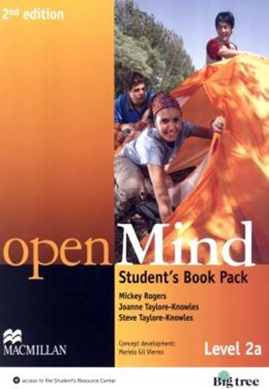 Picture of OPEN MIND 2A SB WITH WB PACK - 2ND ED