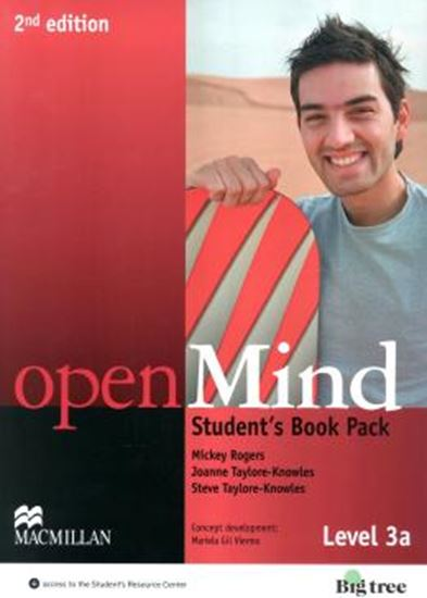 Picture of OPEN MIND 3A SB WITH WB PACK - 2ND ED