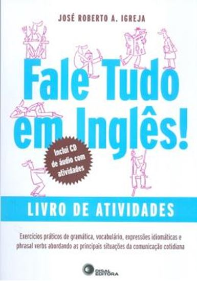 Picture of FALE TUDO EM INGLES! - LIVRO DE ATIVIDADES - COM CD AUDIO