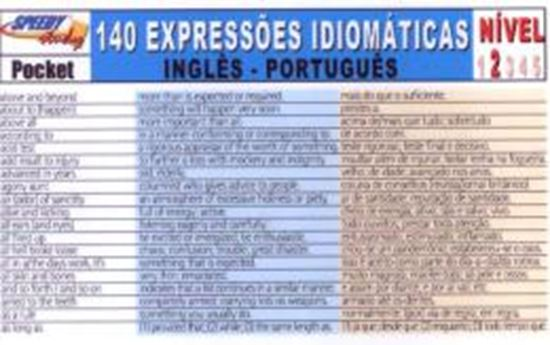 Picture of 140 EXPRESSOES IDIOMATICAS INGLES-PORTUGUES - NIVEL 2