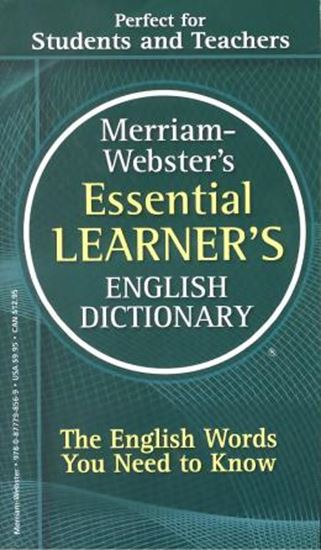 Picture of MERRIAM-WEBSTER´S ESSENTIAL LEARNER´S ENGLISH DICTIONARY