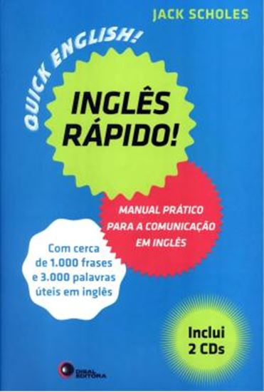 Picture of INGLES RAPIDO - MANUAL PRATICO PARA A COMUNICACAO EM INGLES - CONTEM 2 CDs DE AUDIO