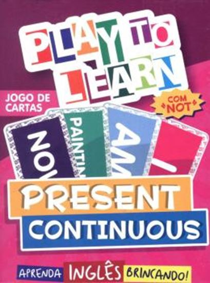 Picture of PLAY TO LEARN - JOGO DE CARTAS PRESENT CONTINUOUS