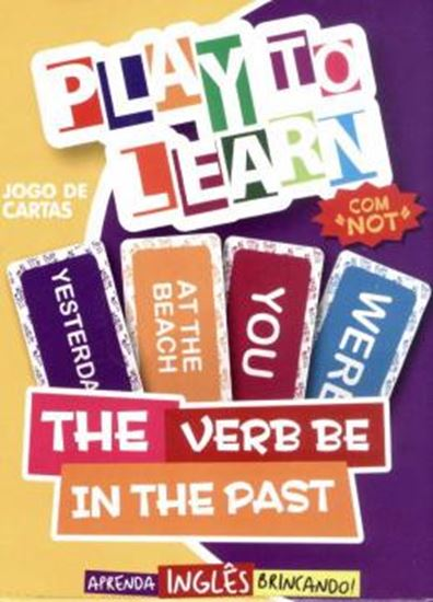 Picture of PLAY TO LEARN - JOGO DE CARTAS THE VERB BE IN THE PAST