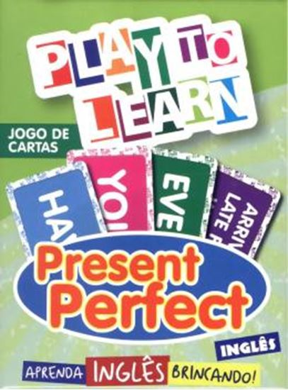 Picture of PLAY TO LEARN - JOGO DE CARTAS PRESENT PERFECT