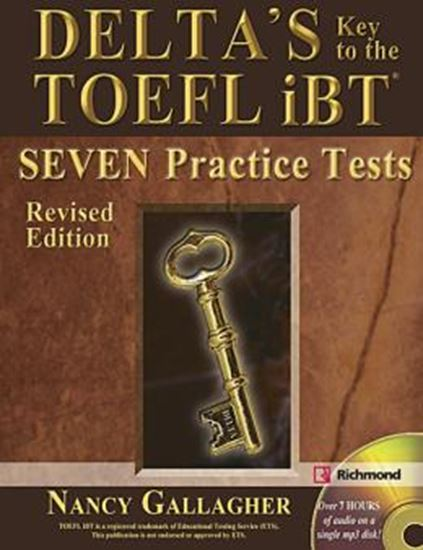 Picture of DELTA´S KEY TO THE TOEFL IBT - ADVANCED SKILL PRACTICE (REVISED EDITION)