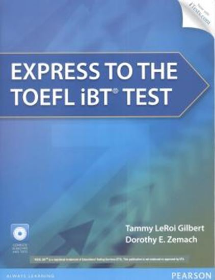 Picture of EXPRESS TO THE TOEFL IBT TEST BOOK WITH CD-ROM & ITEST