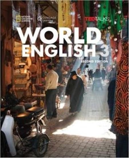 Picture of WORLD ENGLISH 3 SB WITH ONLINE WB - 2ND ED