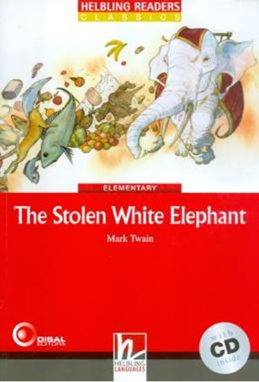 Picture of STOLEN WHITE ELEPHANT, THE WITH CD - ELEMENTARY
