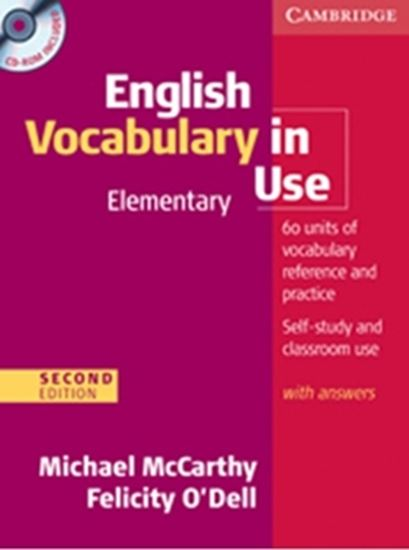 Picture of ENGLISH VOCABULARY IN USE ELEMENTARY WITH ANSWERS AND CD-ROM - 2ND ED