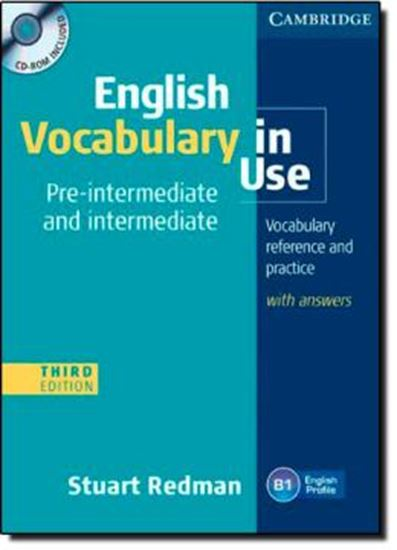 Picture of ENGLISH VOCABULARY IN USE PRE-INTERMEDIATE AND INTERMEDIATE WITH ANSWERS AND CD-ROM - 3RD ED