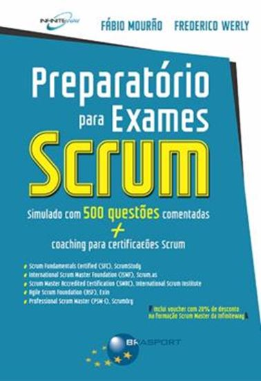 Picture of PREPARATORIO EXAMES SCRUM - SIMULADO COM 500 QUESTOES COMENTADAS