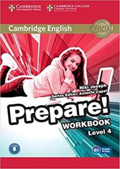 Picture of CAMBRIDGE ENGLISH PREPARE! 4 WB WITH ONLINE AUDIO