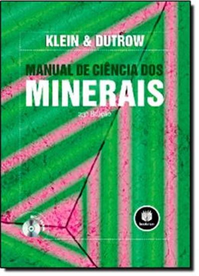 Picture of MANUAL DE CIENCIA DOS MINERAIS - 23. ED
