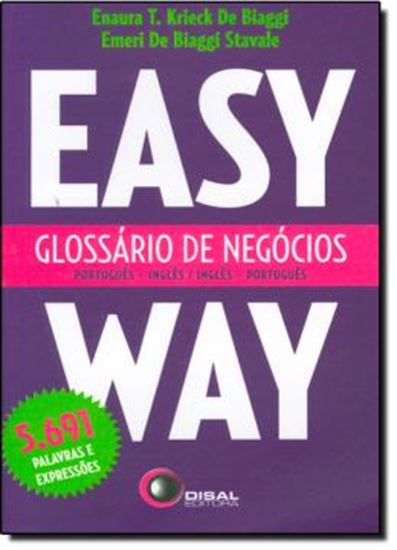 Picture of GLOSSARIO DE NEGOCIOS  PORTUGUES/INGLES - INGLES/PORTUGUES - EASY WAY