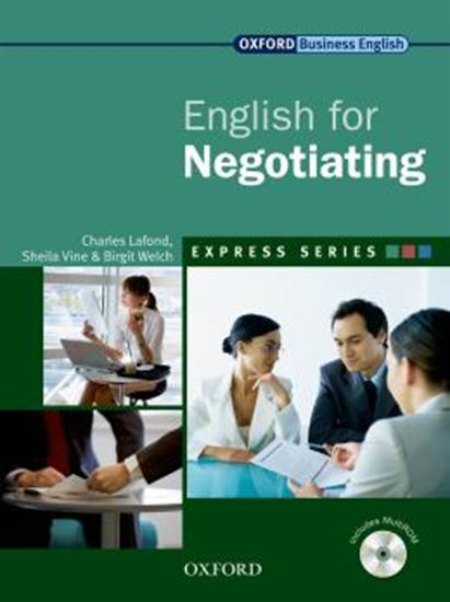 Picture of ENGLISH FOR NEGOTIATING SB WITH MULTI-ROM