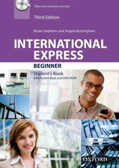 Picture of INTERNATIONAL EXPRESS BEGINNER SB PACK - WITH DVD-ROM - 3RD ED