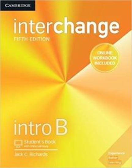 Picture of INTERCHANGE INTRO B STUDENTS BOOK WITH ONLINE SELF-STUDY AND ONLINE WORKBOOK - 5TH ED