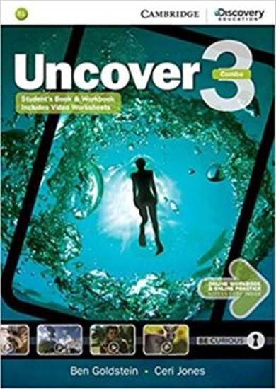 Picture of UNCOVER 3 FULL COMBO WITH ONLINE WORKBOOK AND ONLINE PRACTICE - 1ST ED