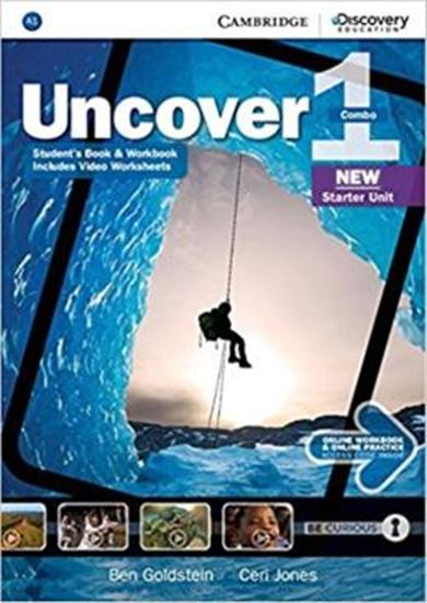 Picture of UNCOVER 1 FULL COMBO WITH ONLINE WORKBOOK AND ONLINE PRACTICE - 1ST ED
