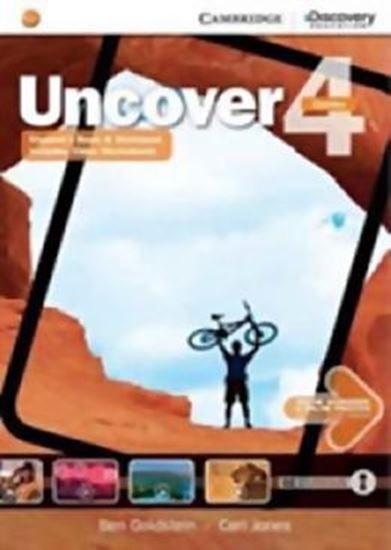 Picture of UNCOVER 4 FULL COMBO - WITH ONLINE WB E ONLINE PRATICE